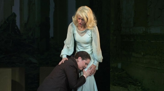 Ann Hallenberg (Arsace), Myrtò Papatanasiu (Semiramide), Vlaamse Opera, Dec 2010--Jan 2011